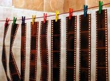 Ontsproten films Stock Fotografie