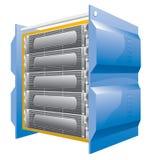 Ontvangende server Royalty-vrije Stock Afbeeldingen