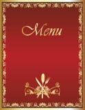 Ontwerp 1 van het Menu van het restaurant Stock Foto's