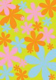 Ontwerp 4 van de bloem royalty-vrije stock afbeelding