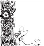 Ontwerp bloemen Royalty-vrije Stock Afbeelding