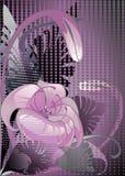 Ontwerp bloemen Stock Afbeelding