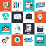 Ontwerp en ontwikkeling Royalty-vrije Stock Foto's
