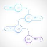 Ontwerp het bedrijfs van Infographics stock illustratie