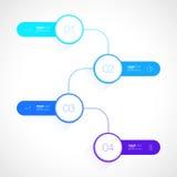 Ontwerp het bedrijfs van Infographics royalty-vrije illustratie