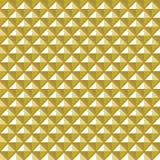 Ontwerp naadloos vierkant convex patroon Royalty-vrije Stock Foto's