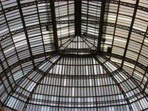 Ontwerp van architectuurmeta backgroundl Undreground Futuristisch perspectief royalty-vrije stock foto