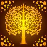Ontwerp van bodhi   Royalty-vrije Stock Afbeeldingen