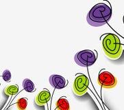 Ontwerp van de de lente het vectorillustratie Stock Afbeeldingen