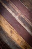 Ontwerp van de houten uitstekende textuur van de muurstijl Stock Afbeeldingen