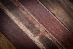 Ontwerp van de houten uitstekende textuur van de muurstijl Royalty-vrije Stock Fotografie