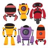 Ontwerp van de robots het vectorinzameling stock illustratie