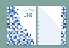 Ontwerp van het boekje vector illustratie