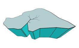 Ontwerp van het het symboolpictogram van de ijsijsschol het vector vector illustratie