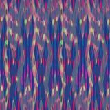 Ontwerp van het Ikat het Naadloze Patroon voor Stof vector illustratie