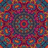 Ontwerp van het Mandala het geometrische patroon Royalty-vrije Stock Foto's