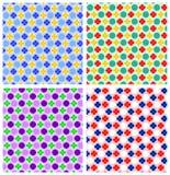 Ontwerp van het punten het textielpatroon Royalty-vrije Stock Foto's