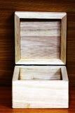 Ontwerp van houten doos Royalty-vrije Stock Afbeeldingen