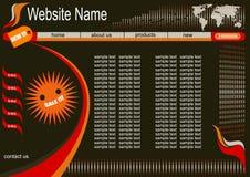 Ontwerp voor website Royalty-vrije Stock Afbeelding