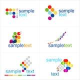 Ontwerpelementen voor embleem of pictogram Royalty-vrije Stock Foto