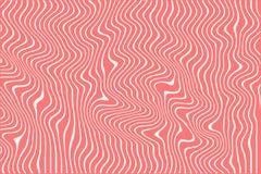 Ontwerper gekleurde achtergrond van lijnen, Optische illusie royalty-vrije illustratie