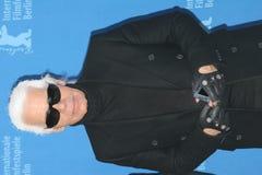 Ontwerper Karl Lagerfeld stock foto