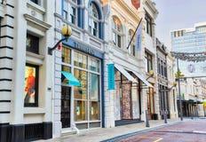 Ontwerper Stores in Perth Royalty-vrije Stock Afbeeldingen