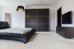 de slaapkamer van de ontwerper stock foto  afbeelding, Meubels Ideeën