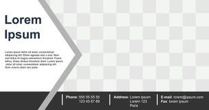 Ontwerpmalplaatje voor bedrijfs modern concept, abstracte vectorkleur als achtergrond stock illustratie