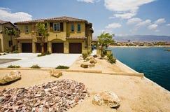 Ontwikkeling van het Flatgebouw met koopflats van Californië, Indio Stock Foto