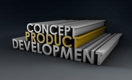 Ontwikkeling van het product Stock Afbeeldingen