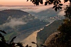 Ontworpen Elbe royalty-vrije stock foto