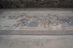 Ontworpen vloeren in vroeger tijden in de stad van Ischia Italië stock afbeelding