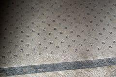 Ontworpen vloeren in vroeger tijden in de stad van Ischia Italië stock afbeeldingen