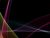 Ontzagwekkende gekleurde abstracte achtergrond Stock Fotografie