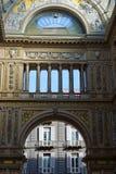 ONU di Umberto della galleria a Napoli immagini stock libere da diritti