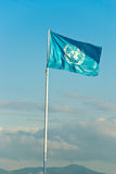 ONU flag. Stock Image