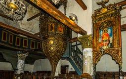 Onufri Iconostasis in Berat Royalty Free Stock Images