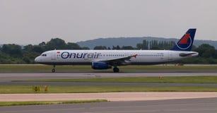 Onur Air Airbus A321 Imagens de Stock