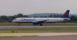 Onur Air Airbus A321 Stock Images