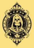 Onverbiddelijke maaimachine Royalty-vrije Stock Afbeeldingen