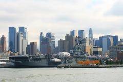 Onversaagde USS Stock Afbeelding