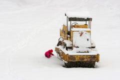 Onverwachte sneeuw Stock Fotografie