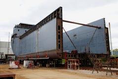 Onvolledig schip Royalty-vrije Stock Foto