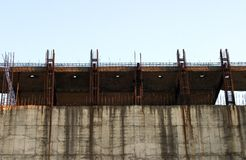 Onvolledige bouw stock fotografie