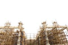 Onvolledige bouwconstructieplaats Stock Foto's