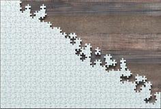 Onvolledige Lege Puzzel royalty-vrije stock afbeelding