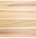 Onvolledige populier houten planken Stock Foto's
