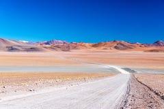 Onvruchtbaar en Kleurrijk Landschap stock fotografie