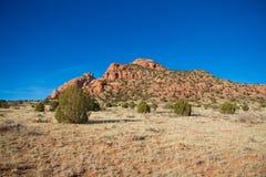 Onvruchtbaar woestijnland Stock Afbeelding